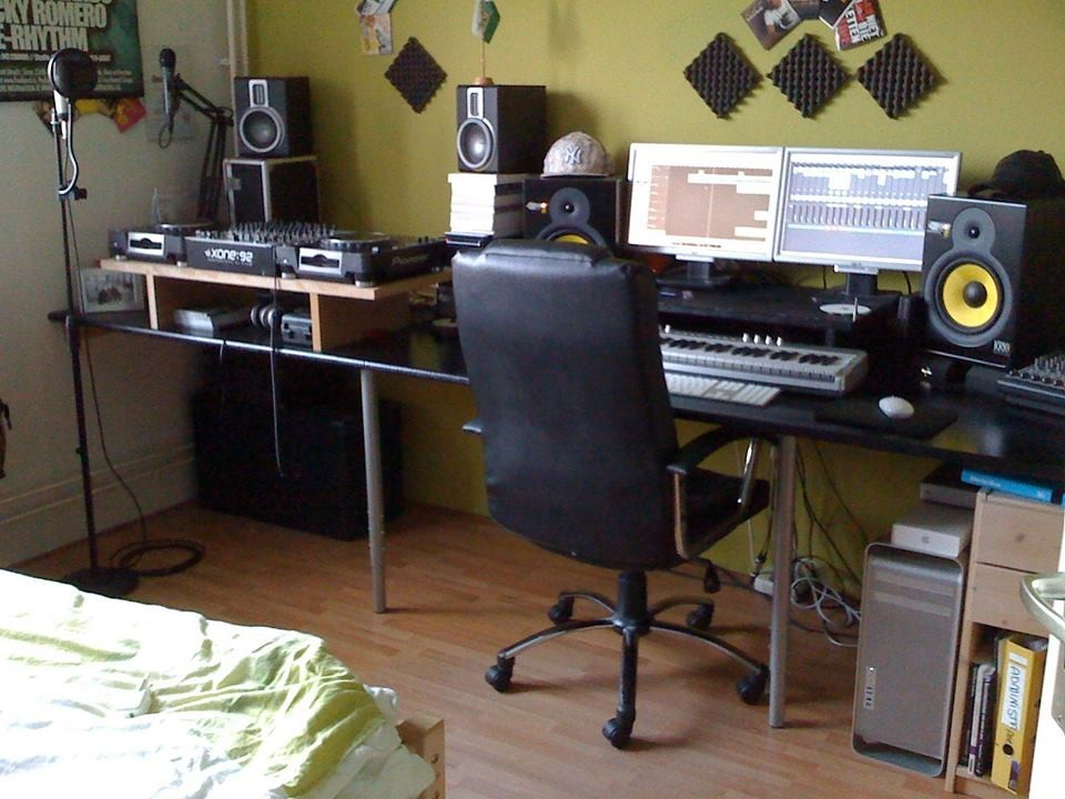 Welcome to professional social network for Bedroom recording studio