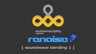 Soundwave Sculpting on Renoise [ Soundwave Bending 1 ]