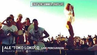 Bacardi Summer Tour Papeete by Ale Toko Loko Querzoli