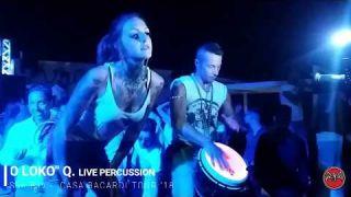 HOUSE music TARANTO summer DjSet & live percussion SHOW